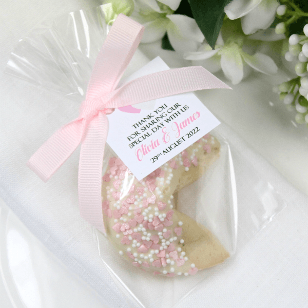 Personalised Wedding Chocolate Fortune Cookies Maple Molly S